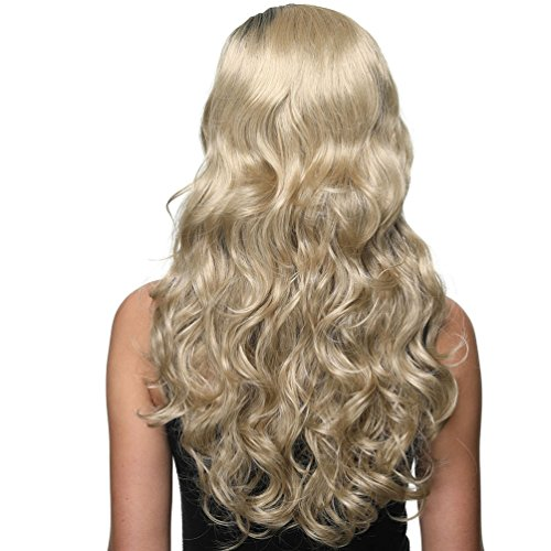per Wig al 22INCH Black Buona and Ombre 22INCH 24 Tone calore Female garanzia Long 613 Fashion Two resistente 1 Brown 6TLG26 Parrucche donna wfOgxYgP