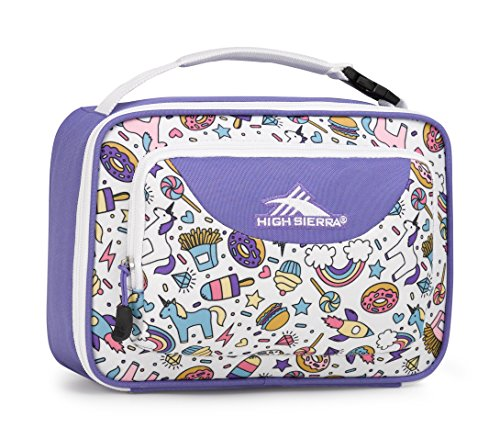 High Sierra Single Compartment- Sweet Cakes/Lavender/White