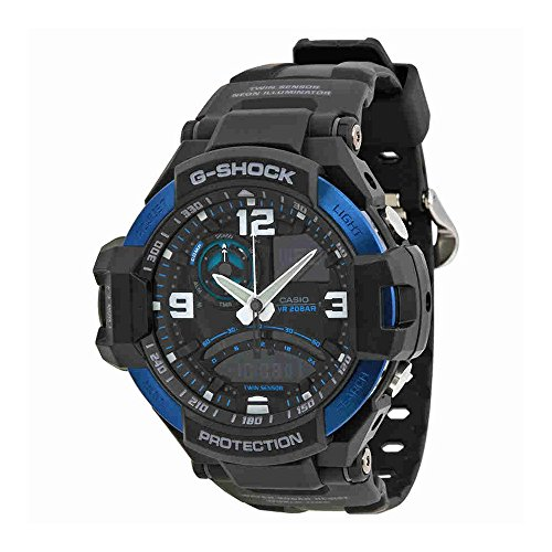 G-Shock GA1000-2B Master of Gravity Stylish Watch - Black / One Size