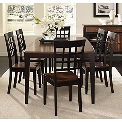 Delicieux A America Bristol Point 7 Piece Dining Set In Espresso