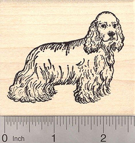 Cocker Spaniel Dog Rubber Stamp