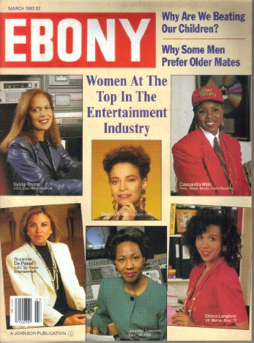 Ebony Magazine March 1993: Why Are We Beating Our Children?