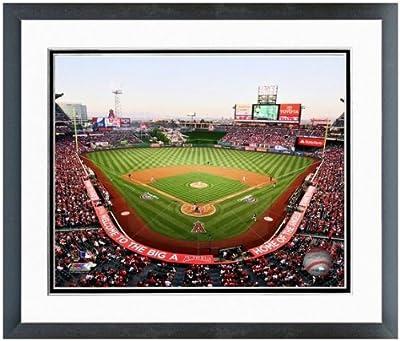 "Los Angeles Angels MLB Stadium Photo 12.5"" x 15.5"" Framed"