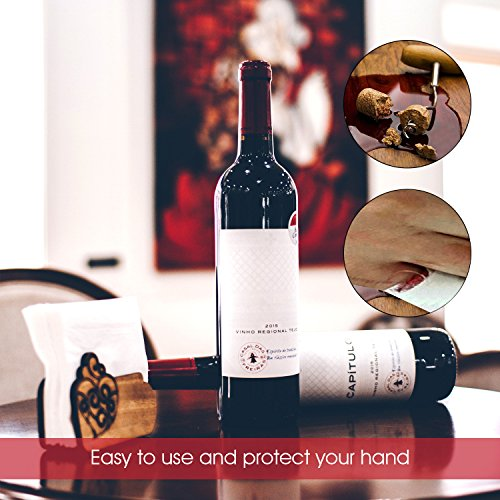 Electric Wine Opener Gift Set, Kimfly luxurious Rechargeable Wine Bottle Opener, Cordless Corkscrew, Stainless Steel Automatic Wine Opener With Foil Cutter, Wine Stopper, Wine Aerator by Kimfly (Image #4)