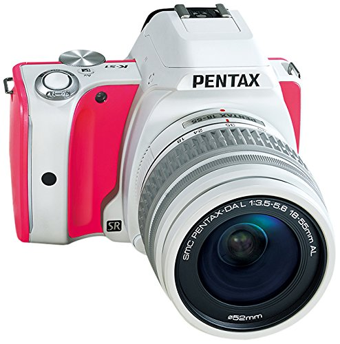 Pentax K-S1 Sweets Collection 20MP SLR Camera 18-55mm lens kit with 3-Inch LCD (Strawberry Cake)