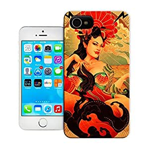 Unique Phone Case Women in the Arts A goddess with dragonfly wings smokes a pipe in this art nouveau pin up girl illustration by Oneq Nao Hard Cover for 4.7 inches iPhone 6 cases-buythecase