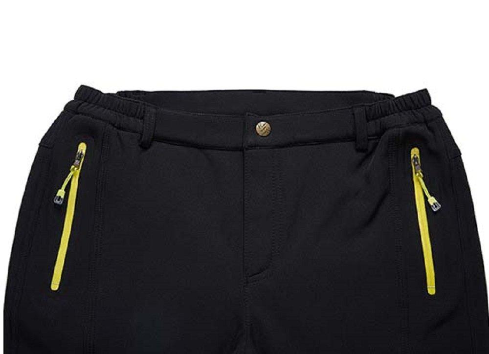 KARMARY Femmes Pantalons de Sport pour Femmes Imperm/¨/¦ables Pantalons Noirs Travail Marche Pantalons de Camping Pantalons de v/¨/¦lo Respirants