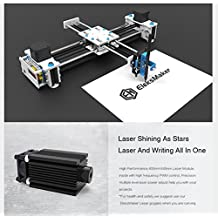 SUNWIN 2 Axis XY Plotter Pen Drawing Laser Engraving Machine 2500MW Writing Signature
