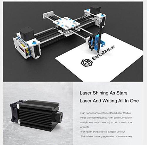 SUNWIN 2 Axis XY Plotter Pen Drawing Laser Engraving Machine 2500MW Writing  Signature