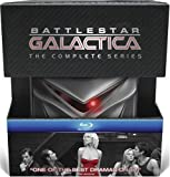 Battlestar Galactica: The Complete Series (with Collectible Cylon) [Blu-ray] by Universal Studios