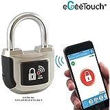 eGeeTouchスマートパッドロック第2世代 インドアでも使える南京錠 スマホやスマートウォッチで鍵や暗証番号不要 Android, iOSに対応 (1)
