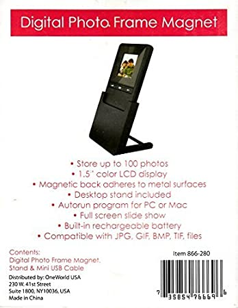 Amazon.com : Digital Photo Frame Magnet : Electronics