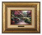 Thomas Kinkade Pools of Serenity Brushwork (Gold Frame)