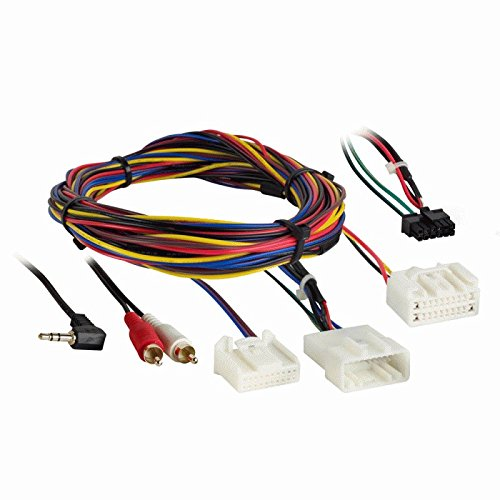 Metra 70-8215AMP Toyota Avalon 2005-2010 Vehicle Radio Relocation Wire Harnesses ()