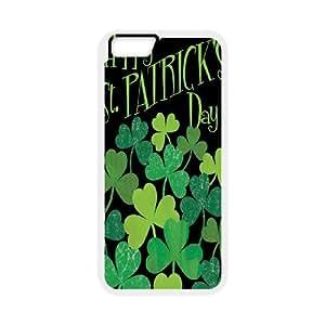 "Unique Phone Case Design 12Lucky Clover & Irish Flag- For Apple Iphone 6,4.7"" screen Cases"