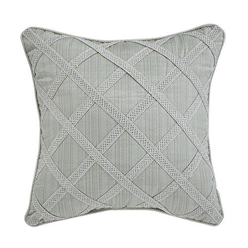 Croscill 18X18 Caterina Square Pillow, 18'' x 18'', Sage