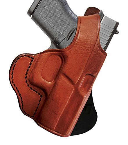 Tagua PD1R-982 Desert Eagle 6'' Brown/Right Hand Rotating Thumb Break Paddle Holster