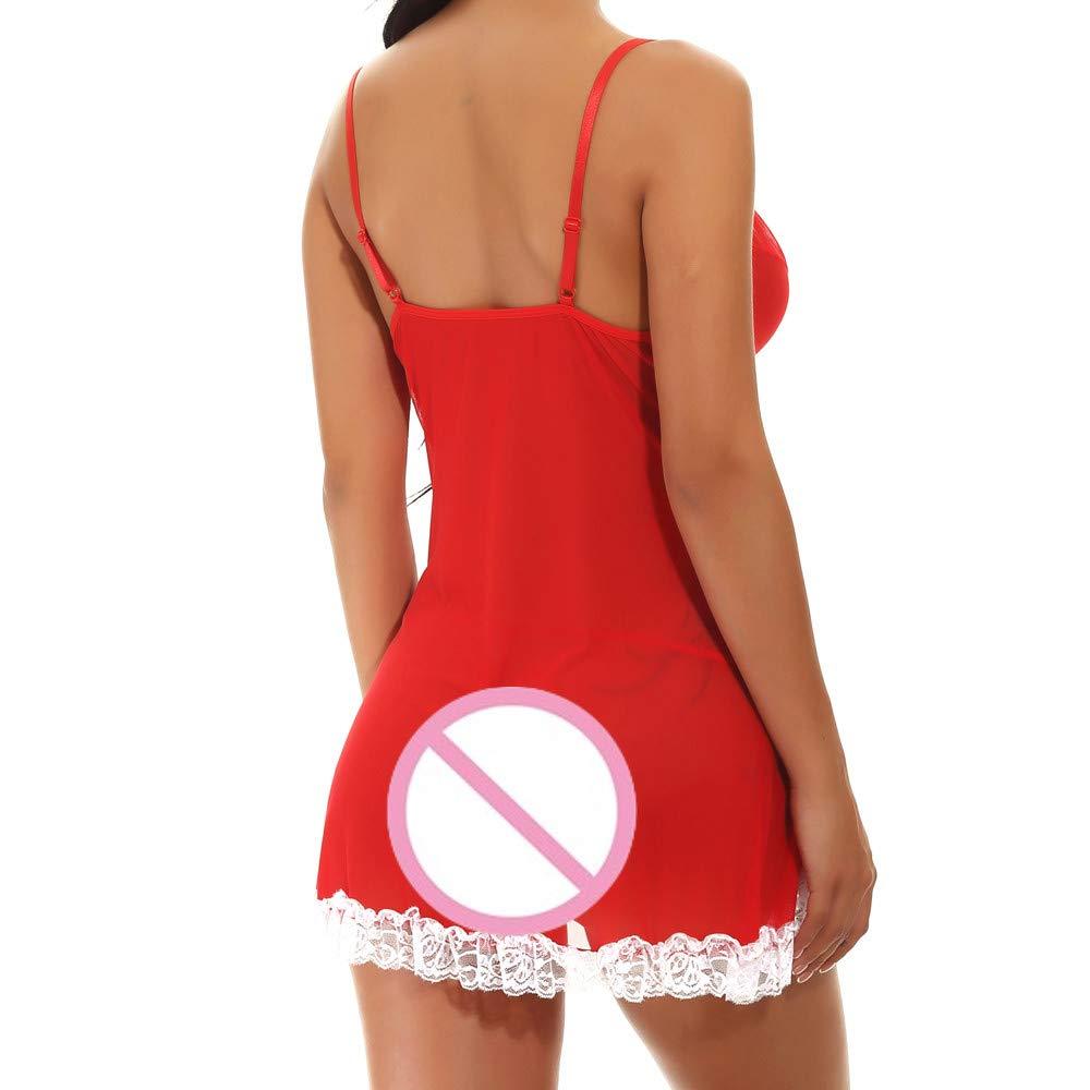 🌹🌹🌹Conjunto Pijamas Encaje Sexy, Manadlian Conjunto de Pantalones ...