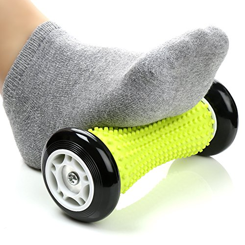 H&S Foot Massage Roller Muscle Roller Stick Wrists and Forearms Exercise...