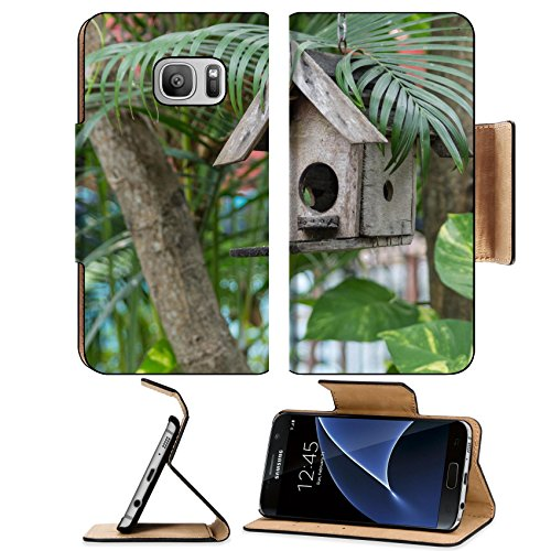 Liili Premium Samsung Galaxy S7 Flip Pu Leather Wallet Case Bird house made a a of scrap wood Decorative in the garden Photo 19593821 Simple Snap Carrying