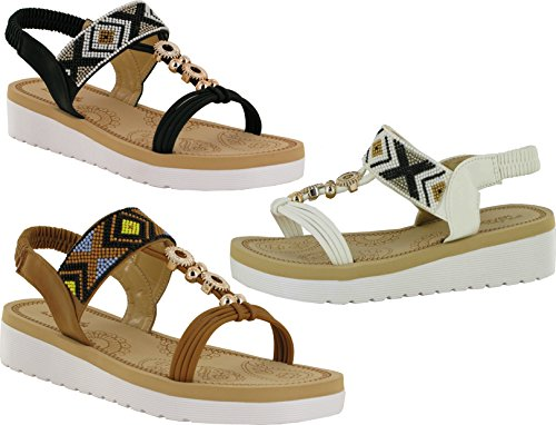 Reveal Damen Sandalen Camel