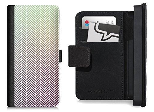 Flip Wallet Case / Klapphülle für iPhone 6 mit Designer Motiv - ''White Arrows'' von caseable