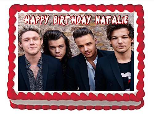 Edible Cake Topper One Direction