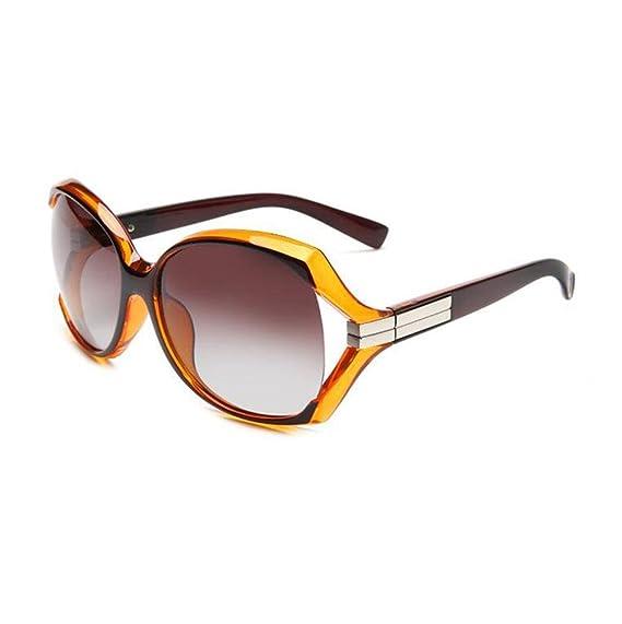 Z&YQ Personnalité grande boîte polarisée lumière miroir miroir femme lunettes de soleil lunettes , a2