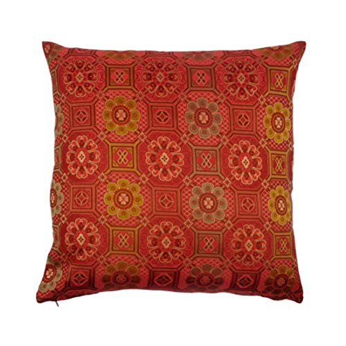 - Cate Chestnut Golden Lotus Throw Pillow 20
