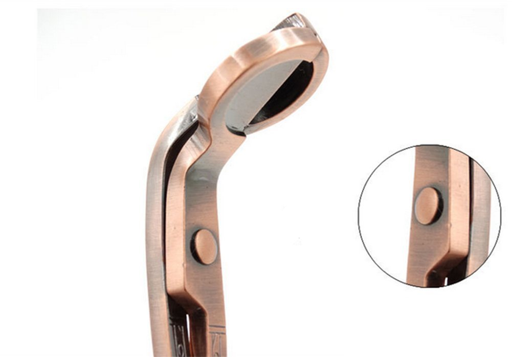 gespout 7/Inch acero inoxidable vela Wick Trimmer duradero tijeras cortador Snuffers para l/ámpara de aceite candlesnuffers cobre