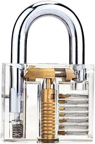 Bestargot Lock Repair Stainless Steel Set Small Bag and 1 Padlock