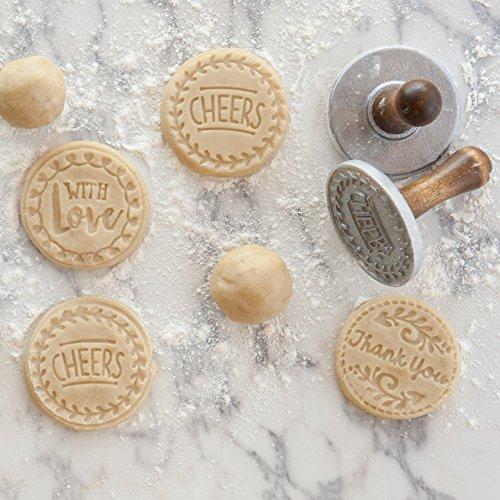 Nordic Ware Greetings Heirloom Cookie Stamps