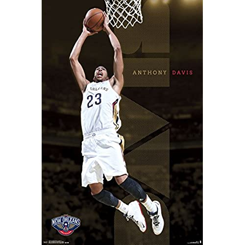 Trends International New Orleans Pelicans Anthony Davis Wall Poster 22.375
