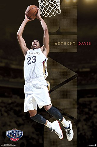 Lovely Trends International New Orleans Pelicans Anthony Davis Wall Poster  22.375u0026quot; ...