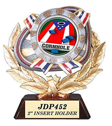 Cornhole Patriotic Trophy