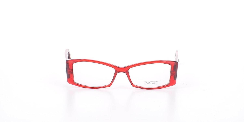 109cddaca0f162 Traction ALICONE Rubis Lunette de vue Femme Rouge 50  Amazon.fr  Vêtements  et accessoires