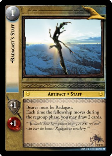 LOTR TCG PROMO RADAGAST'S STAFF 0P57 (Staff Radagast Of)