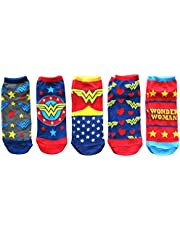 DC Comics Wonder Woman 5 Pack Ankle Socks