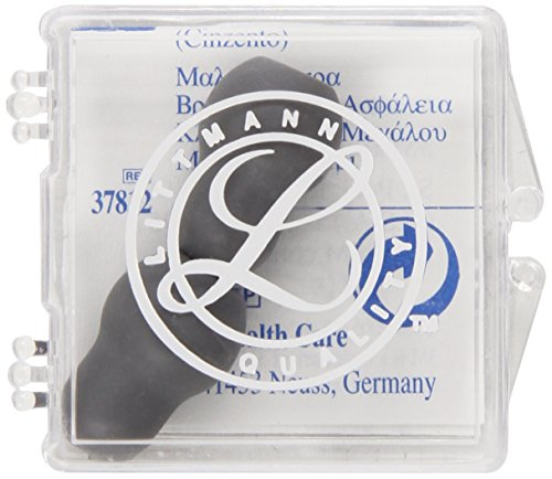 Littmann Soft Sealing Eartips Snap (3M Littmann Snap Tight Soft-Sealing Replacement Eartips Large, Pair, Gray, item)