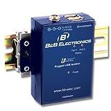 Usb To Usb 2 Port Isolator / Hub - 4kv, Rugged