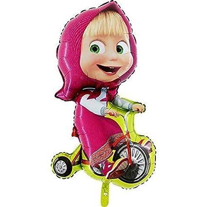Amazon.com: Masha ciclismo globo por Masha y el oso: Toys ...