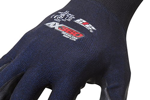 212 Performance Gloves AXGLT-05-012 AX360 Grip Lite Nitrile-dipped Work Glove, 12-Pair Bulk Pack, XX-Large by 221 Performance Gloves (Image #3)