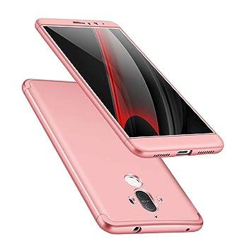 Funda Huawei Mate 9 360 Grados Oro Rosa Ultra Delgado Todo Incluido Caja del teléfono de la protección 3 en 1 PC Case JOYTAG: Amazon.es: Electrónica