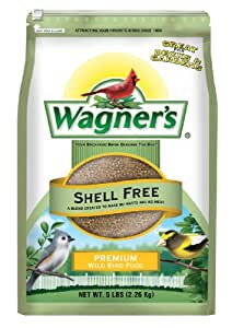 Amazon wagners 62056 shell free blend 5 pound bag wild wagners 62056 shell free blend 5 pound bag forumfinder Images