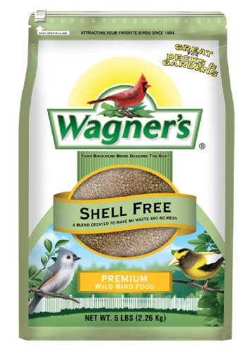 51AOMUMBFfL - Wagner's 62056 Shell Free Blend, 5-Pound Bag