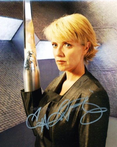 AMANDA TAPPING as Replicator Carter - Stargate SG-1 Genuine Autograph from Celebrity Ink