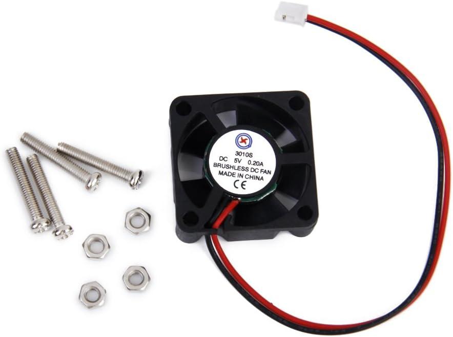 DC 5V 0.2A Ventilador para Raspberry Pi Modelo B y Frambuesa Pi 2
