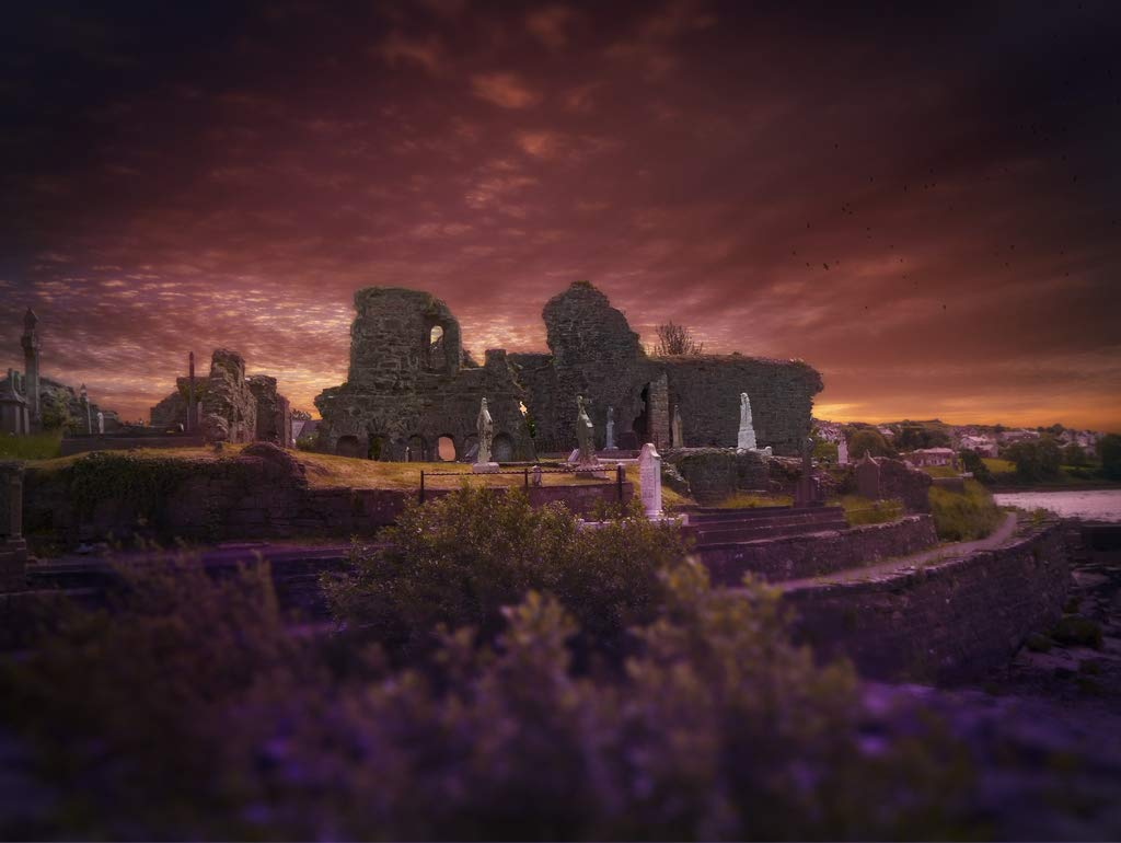 Lais Jigsaw Ireland landscape ruin 2000 pieces