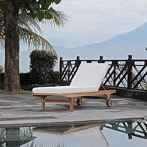 51AONGf7ewL._SS300_ Teak Lounge Chairs & Teak Chaise Lounges
