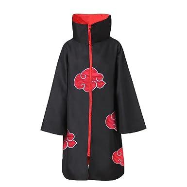 Do Style itachi Akatsuki Ai Plus Stand Collar Size Cloak Naruto Costume WE9I2DH